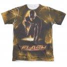 The Flash Bolt Sublimation T-Shirt White