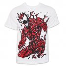 SpiderMan Carnage TShirt White