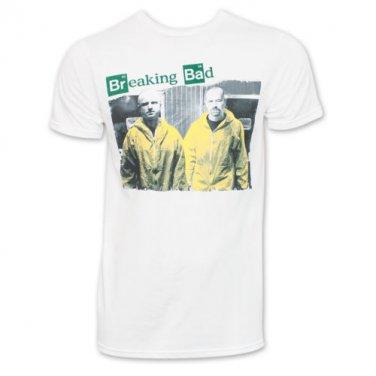 Breaking Bad Yellow Suits TShirt White