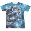 Justice League Atmospheric Sublimation T-Shirt White
