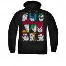 Justice League Men's Blocks Pullover Hoodie Black