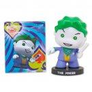 Batman Joker Figurine & Puff Sticker Set Purple