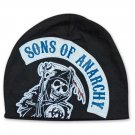 Sons Of Anarchy Motorcycle Club Patch Beanie Black