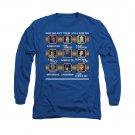 DC Comics Villains Stage Select Long Sleeve T-Shirt Blue