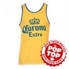 Corona Extra Men's Pop Top Tank Top Yellow