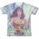 Wonder Woman Lightning Sublimation T-Shirt White