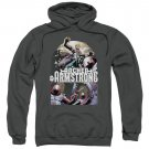 Archer & Armstrong Dropping In Pullover Hoodie Gray