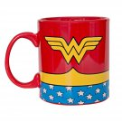Wonder Woman Costume Mug Red