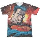 Superman Determination Sublimation T-Shirt White