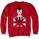Rai Protector Crew Neck Sweatshirt Red