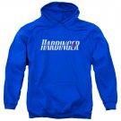 Harbinger Logo Pullover Hoodie Blue