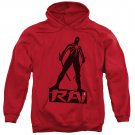 Rai Silhouette Pullover Hoodie Red