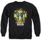 Quantum And Woody Explosion Crew Neck Sweatshirt Black