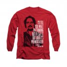 Sons Of Anarchy With Tig Long Sleeve T-Shirt Red