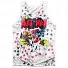 Batman Cards Sublimation Tank Top White