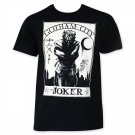 Joker White Card Tee Shirt Black