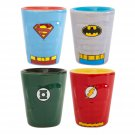 DC Heroes Shot Glass Set Blue