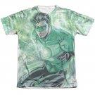 Green Lantern Lightning Sublimation T-Shirt White