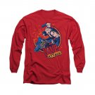 Batman Bane Attack Long Sleeve T-Shirt Red