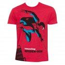 Spiderman Michael Cho Shirt Red