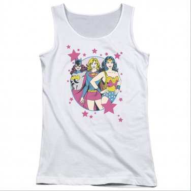 DC Comics Wonder Woman Superior Juniors Tank Top White