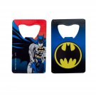 Batman Card Bottle Opener Blue