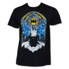 Batman Stained Glass Tee Shirt Black