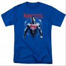 Batman v Superman Spraypaint T-Shirt Blue