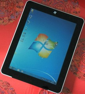 P97 Tablet PC Intel N455 1.66G 16G SSD Windows7 3G Module Function Calls