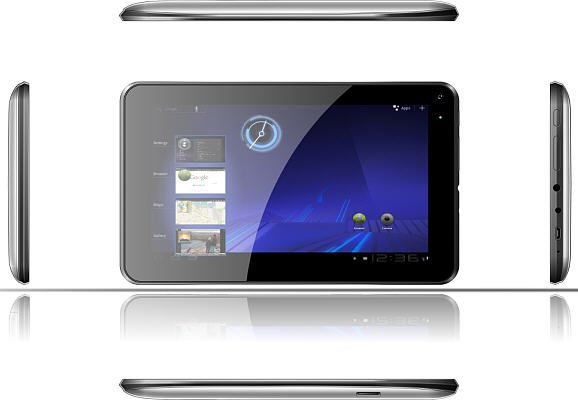"""7"""" Android Dual Cameras Tablet PC MID Capacitive Multimedia Touch 1.5GHz 4GB Wifi"""
