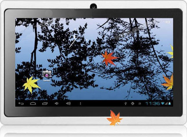 "8GB 7"" 4.0 Kids Tablet Capacitive Screen Camera MID Wifi Flash"