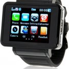 K1 Watch Cell Phone Quad Band Unlocked Touch Screen with Camera Compass Flashlight Bluetooth MP3