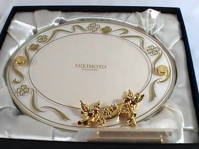 Authentic Mikimoto Photo Frame, New without Tag
