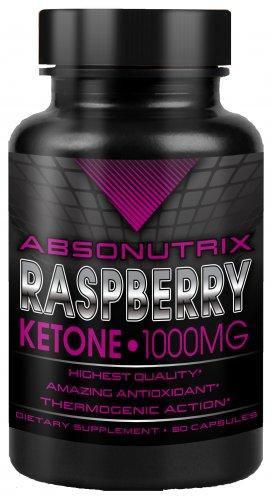 Absonutrix Raspberry Ketone 1000mg capsules Burn Caps Diet Pills weightloss fat burn
