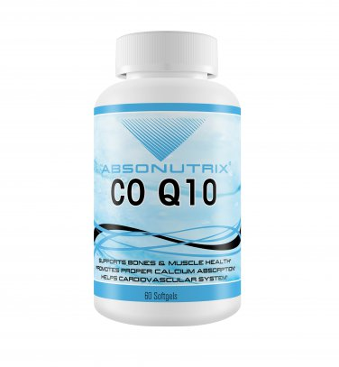 Absonutrix CQ 10 100mg helps protect your heart bones and muscles 60 softgels