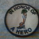In Memory of a Hero Patch
