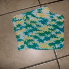 Set of 2 Various Greens Dish Cloths