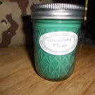 Chocolate Mint 8OZ Soy Mason Jar Candle