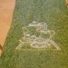 Embroidered Hand Towel - Tea Set