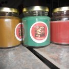 Lot of 3 6.5oz Candles-Olive Tree, Cappaccino Mocha & Sweet Home