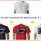 Gold Star Parents Brigade T-shirt Size 2X Red