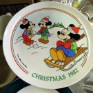 Disney's Christmas Plate Collection  1982-1986