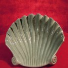 Red Wing Shell  Dish  Green M-1567 Rare