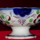 Vintage Colorful Bowl, Floral