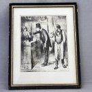 OFF MARKET Lithograph Honore Daumier Nobodys  Friend