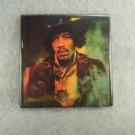 Vintage Jimi Hendrix  Square Pin Collectible