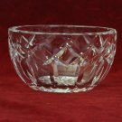 Vintage Waterford Crystal Dish Diamond Cut Star Base Sparkling