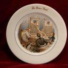 Vintage Scammells Trenton Plate  Brass Rail Collectible