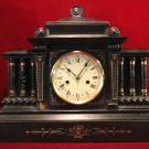 Antique Mantle Clock Hamburg Clock Company