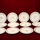 Ahrenfeldt Limoges China Plates Gilded Pattern
